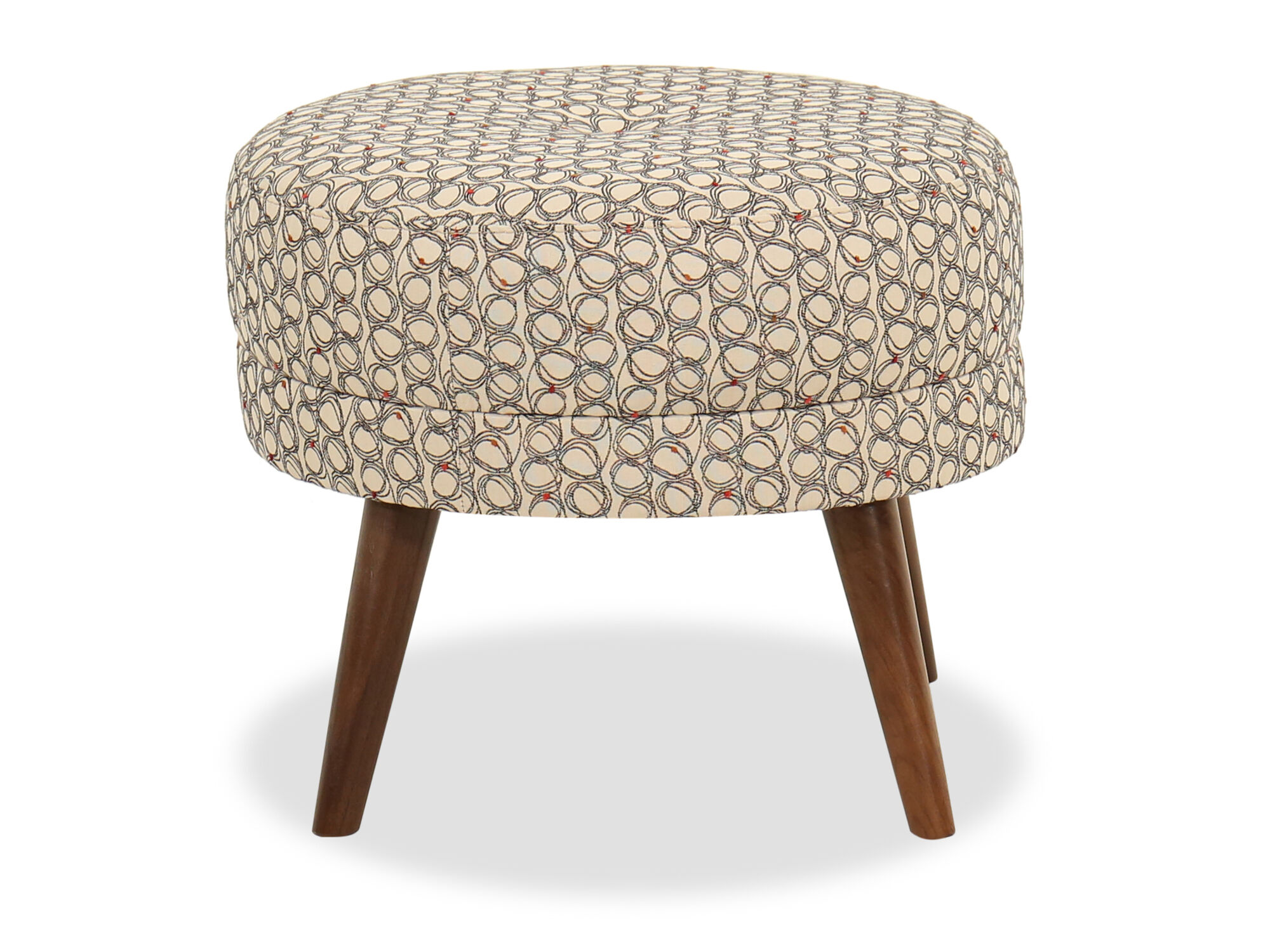 Modern 21 Quot Accent Ottoman In Beige Mathis Brothers Furniture