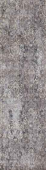 Transitional Power-Loomed 5 x 8 Rectangle Rug in Taupe