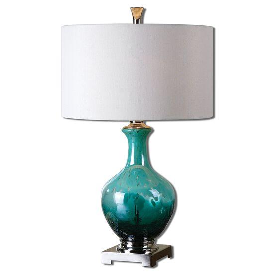 Pot Base Table Lampin Green Blue