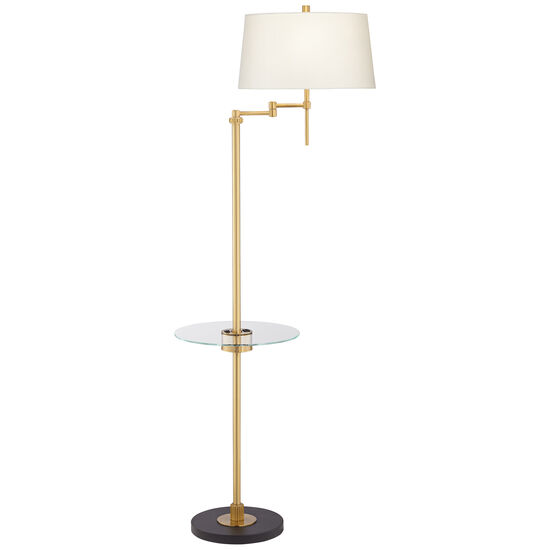 Swing Floor Lamp with Tray