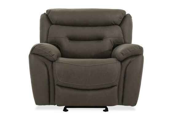 Casual Power Recliner in Iron Gray