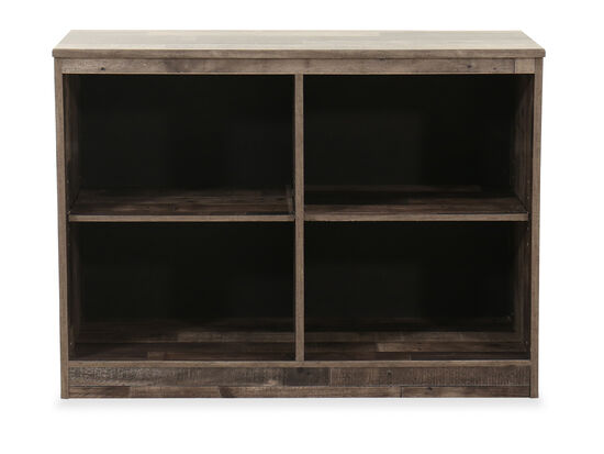 Contemporary Youth Loft Bookcase in Gray