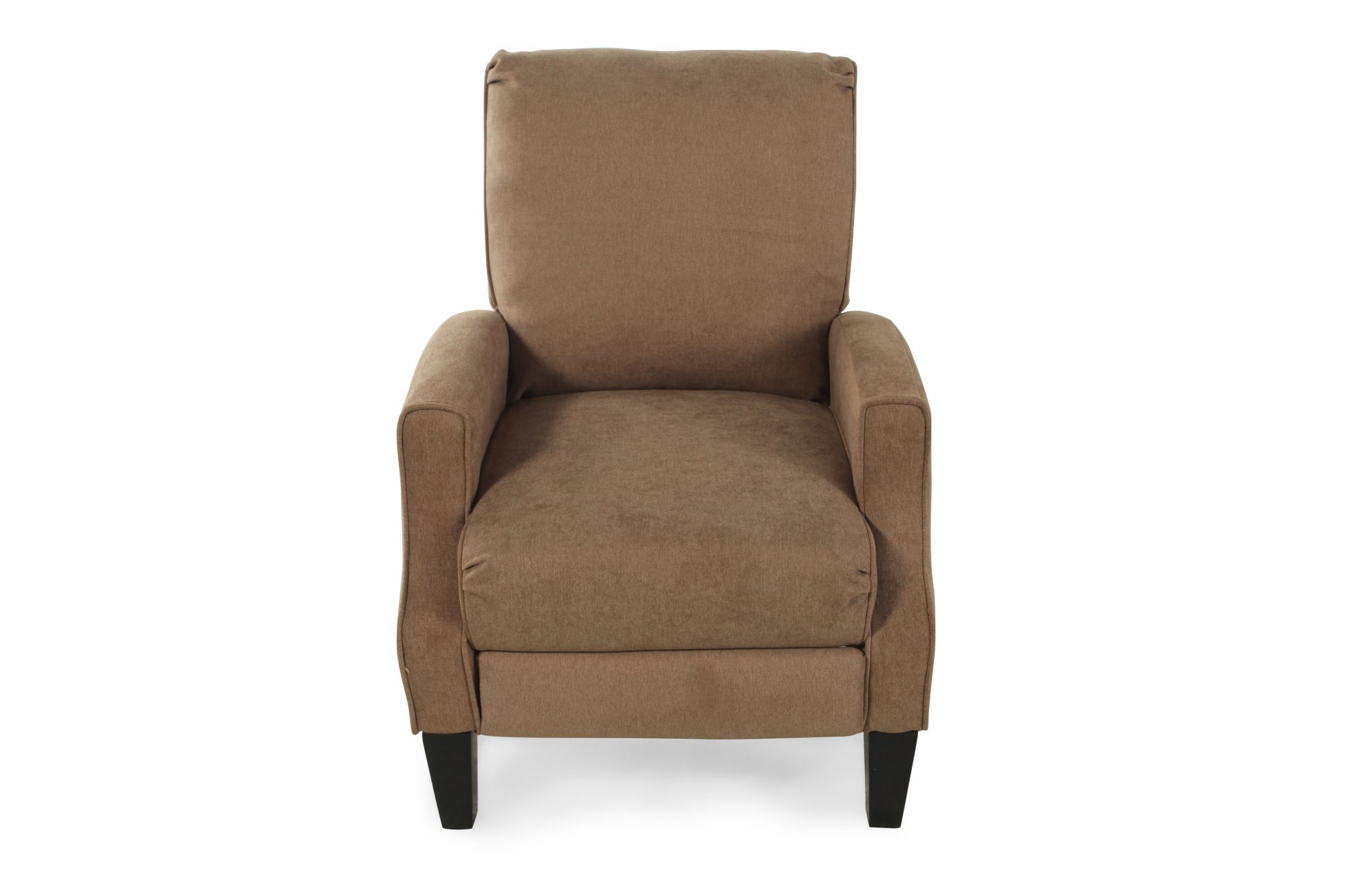 Contemporary 28u0026quot; Recliner In Brown ...