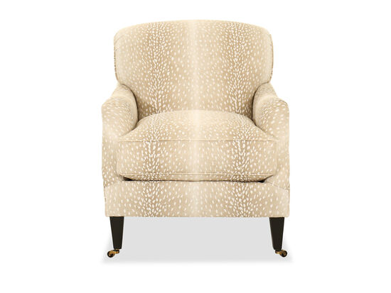 Contemporary Animal Print 30 Accent Chair Mathis Brothers Furniture