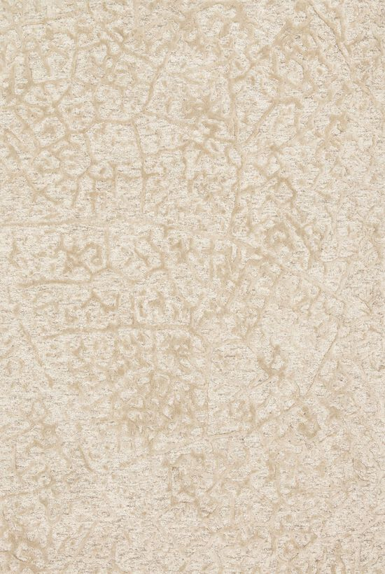 "Contemporary 5'-0""x7'-6"" Rug in Ant Ivory/Beige"