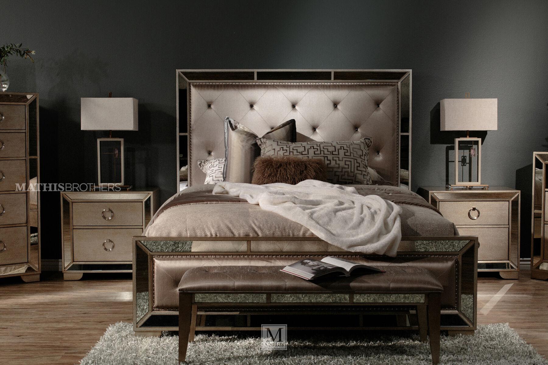 ... Pulaski Farrah Upholstered Queen Bedroom Suite ...