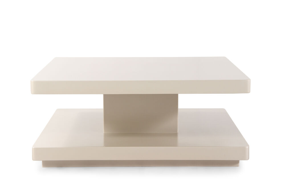 Square Transitional Cocktail Table In Pearl Mathis Brothers Furniture