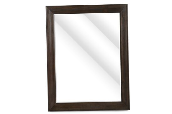 "37"" Casual Beveled Accent Mirror in Foxtail"