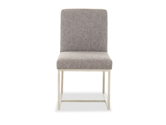 """Contemporary 20"""" Dining Chair in Gray"""