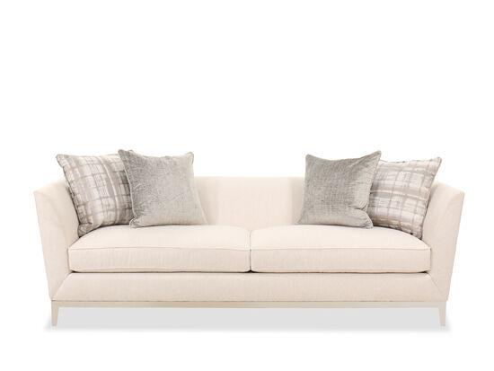 "Contemporary 96"" Sofa in Beige"