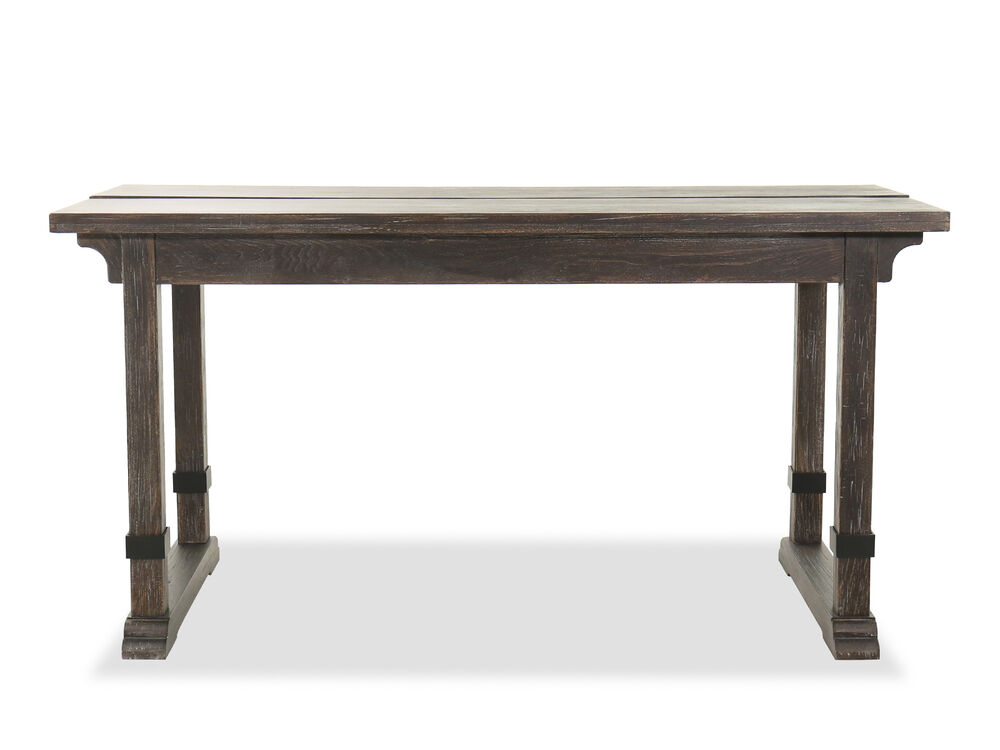 Traditional Lift Top Writing Desk in Coffee