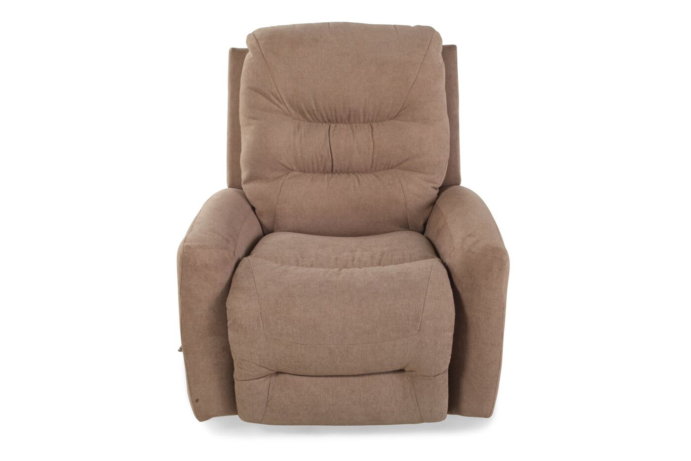 Contemporary 35 rocker recliner in cashmere mathis for Furniture 35