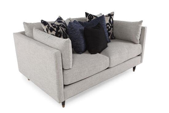 """Low-Profile 70"""" Sofa in Stone"""