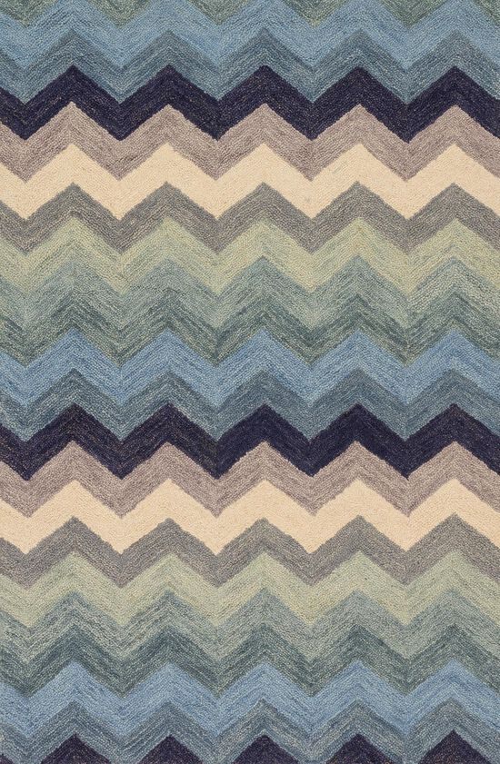 """Transitional 9'-3""""x13' Rug in Multi/Blue"""