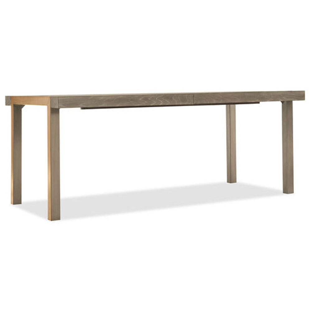 """Pacifica 78"""" Rectangle Dining Table W/2-18"""" Leaves in Light Wood"""