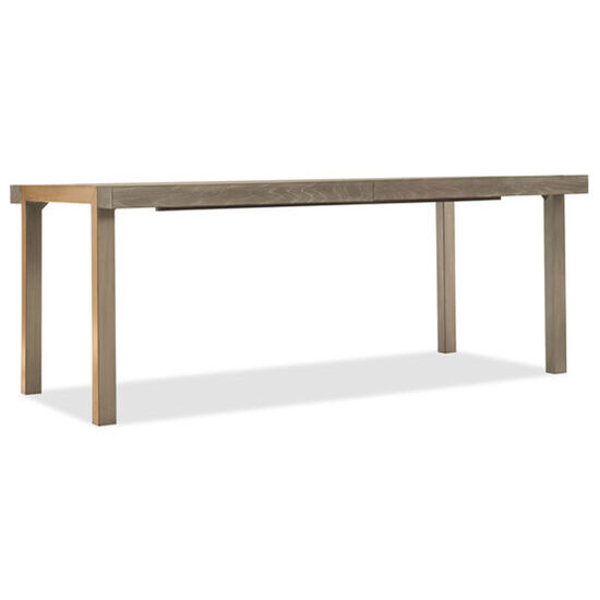 "Pacifica 78"" Rectangle Dining Table W/2-18"" Leaves in Light Wood"