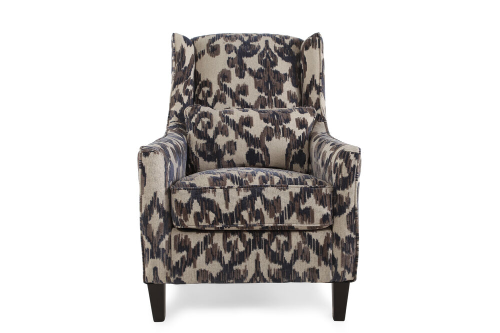Textured Accent Chair in Cream