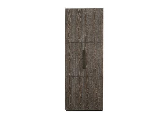Two-Door Armoire in Brown