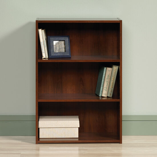Traditional Adjustable Shelf Bookcase in Brook Cherry