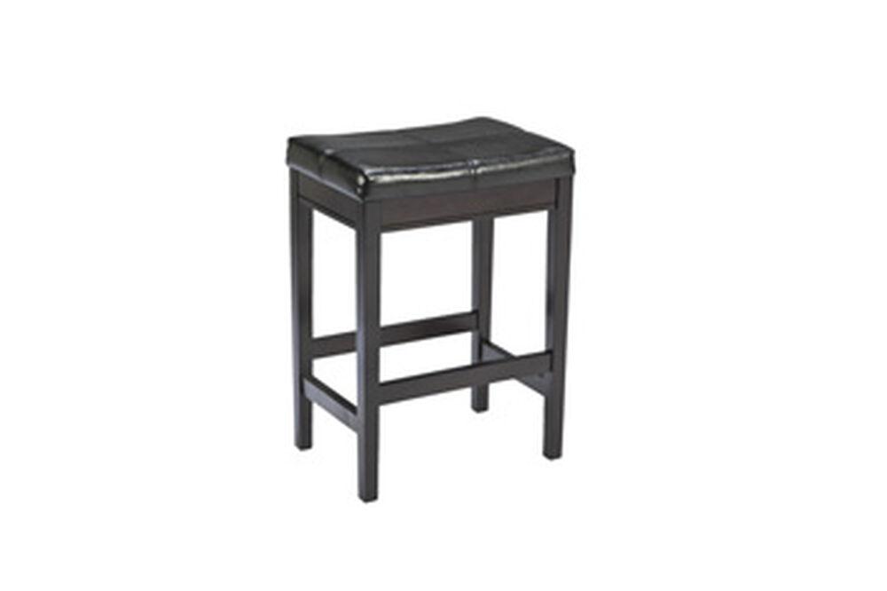 Pleasant Contemporary 24 Rectangular Bar Stool In Dark Brown Machost Co Dining Chair Design Ideas Machostcouk
