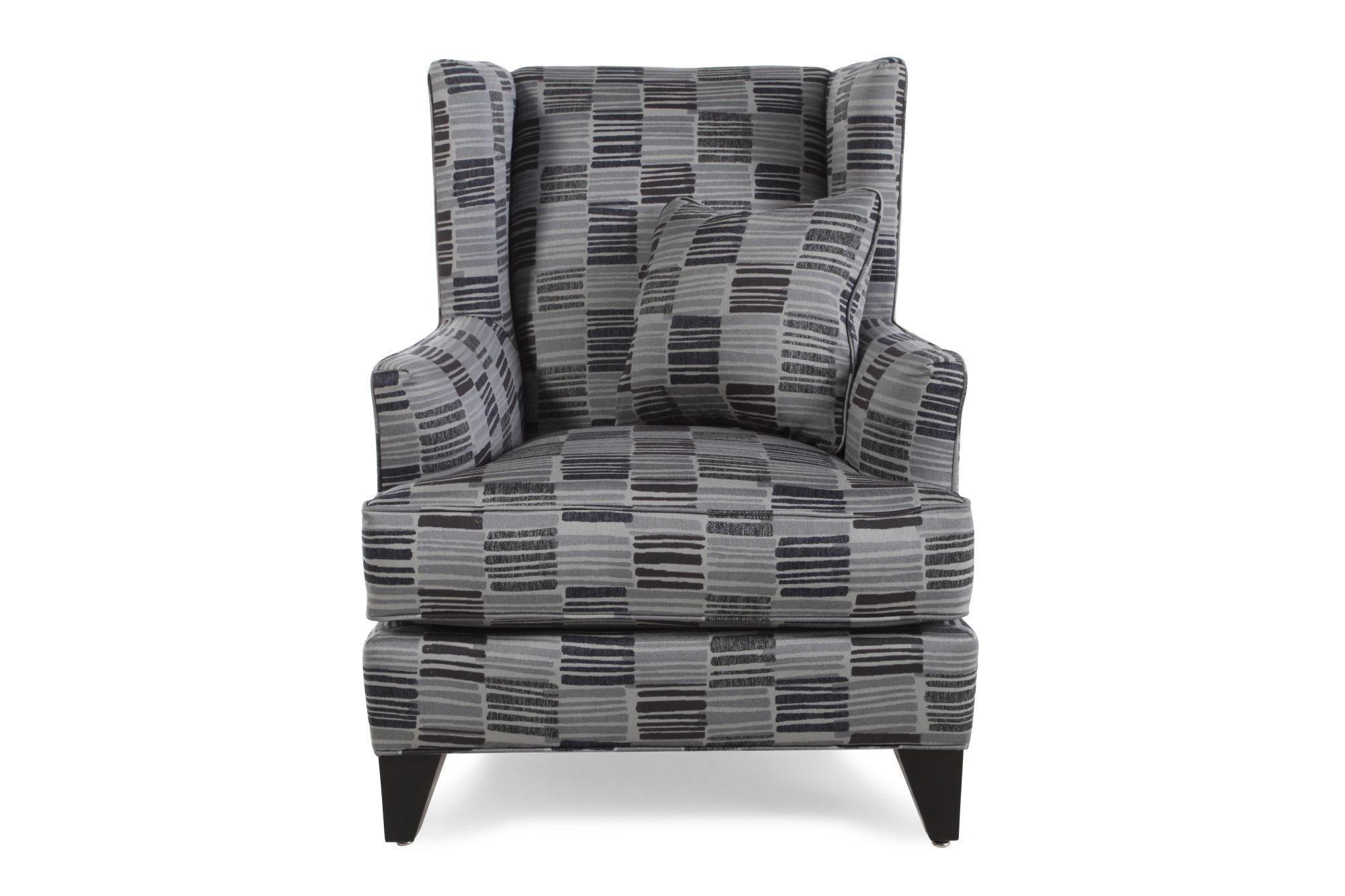 Images Geometric Patterned Contemporary 40u0026quot; Accent Chair Geometric  Patterned Contemporary 40u0026quot; Accent Chair