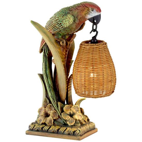 Parrot Paradise Table Lantern Lamp