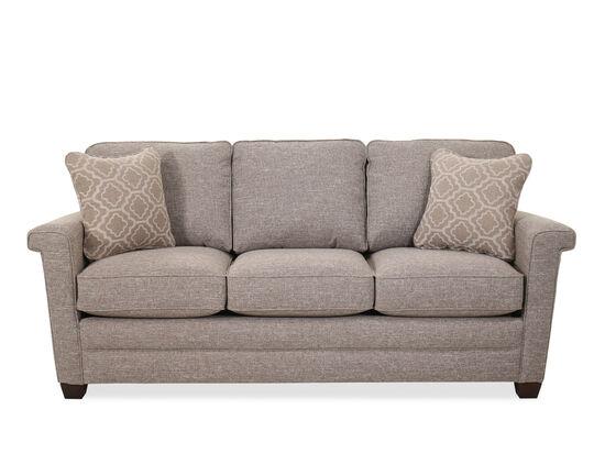 Contemporary Three-Cushion 82'' Sofa in Silt