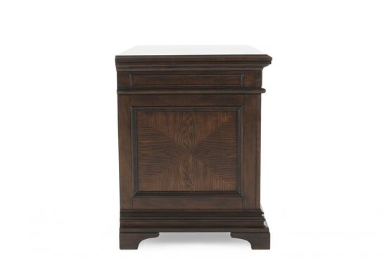 Five-Drawer Traditional Combo File in Molasses Brown
