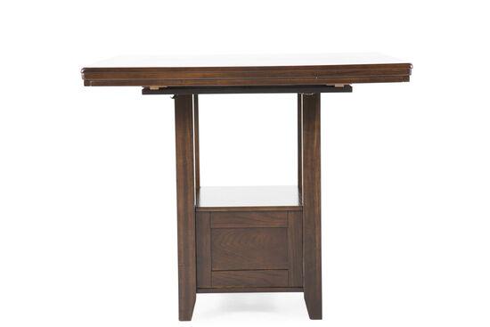 "36"" Rectangular Counter Table in Dark Brown"