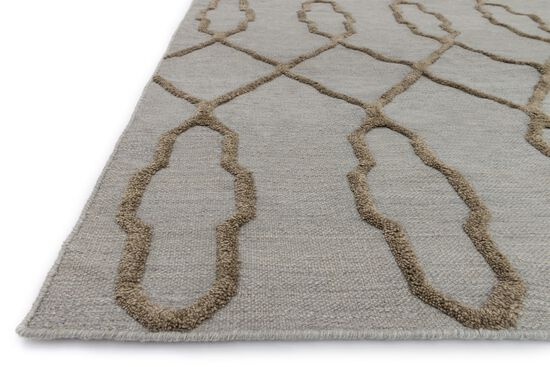 """Transitional 5'-0""""x7'-6"""" Rug in Slate"""