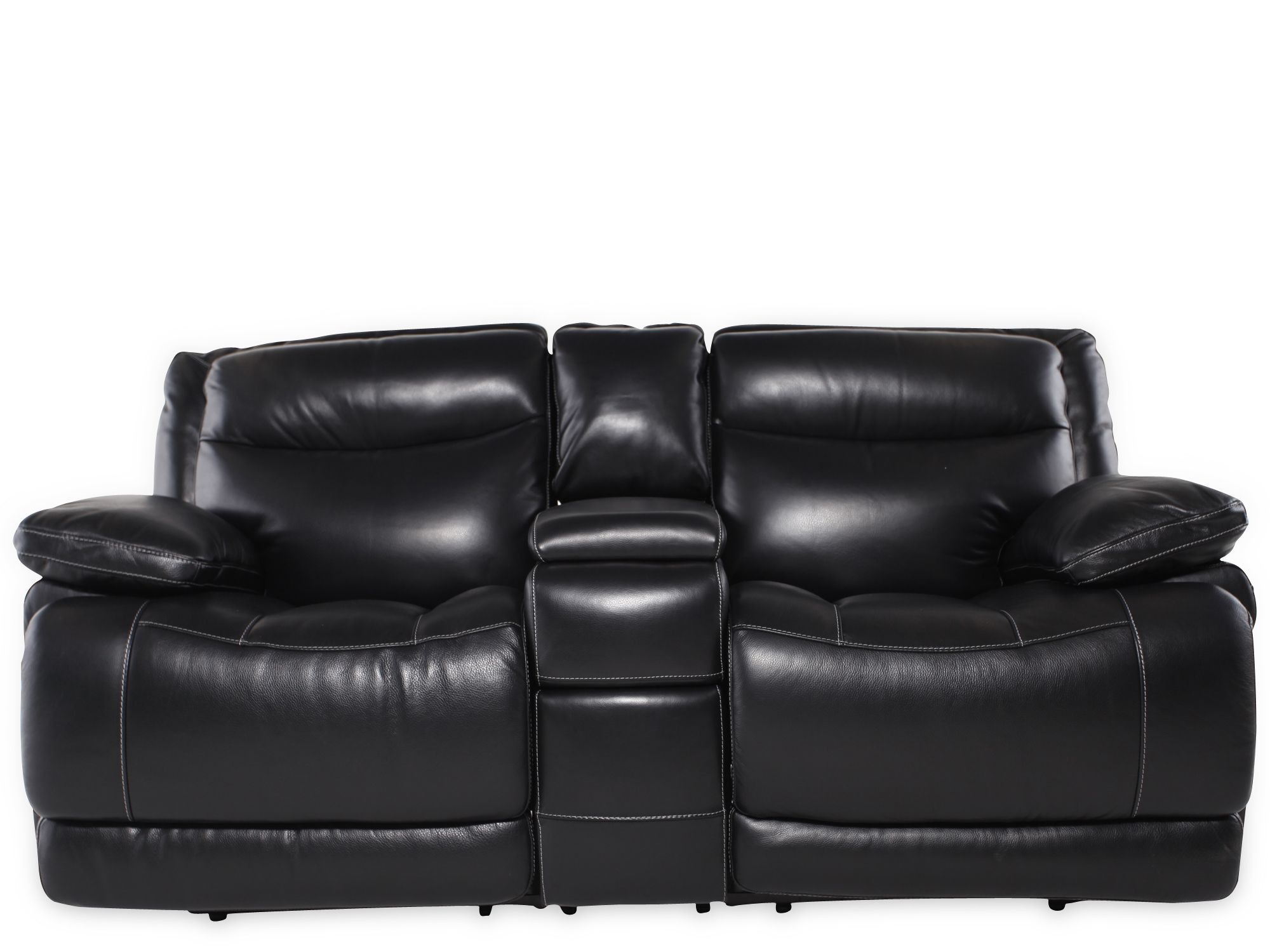 Simon Li Leather Shining Tips Midnight Power Loveseat with Console  sc 1 st  Mathis Brothers & Simon Li Leather Shining Tips Midnight Power Loveseat with Console ... islam-shia.org