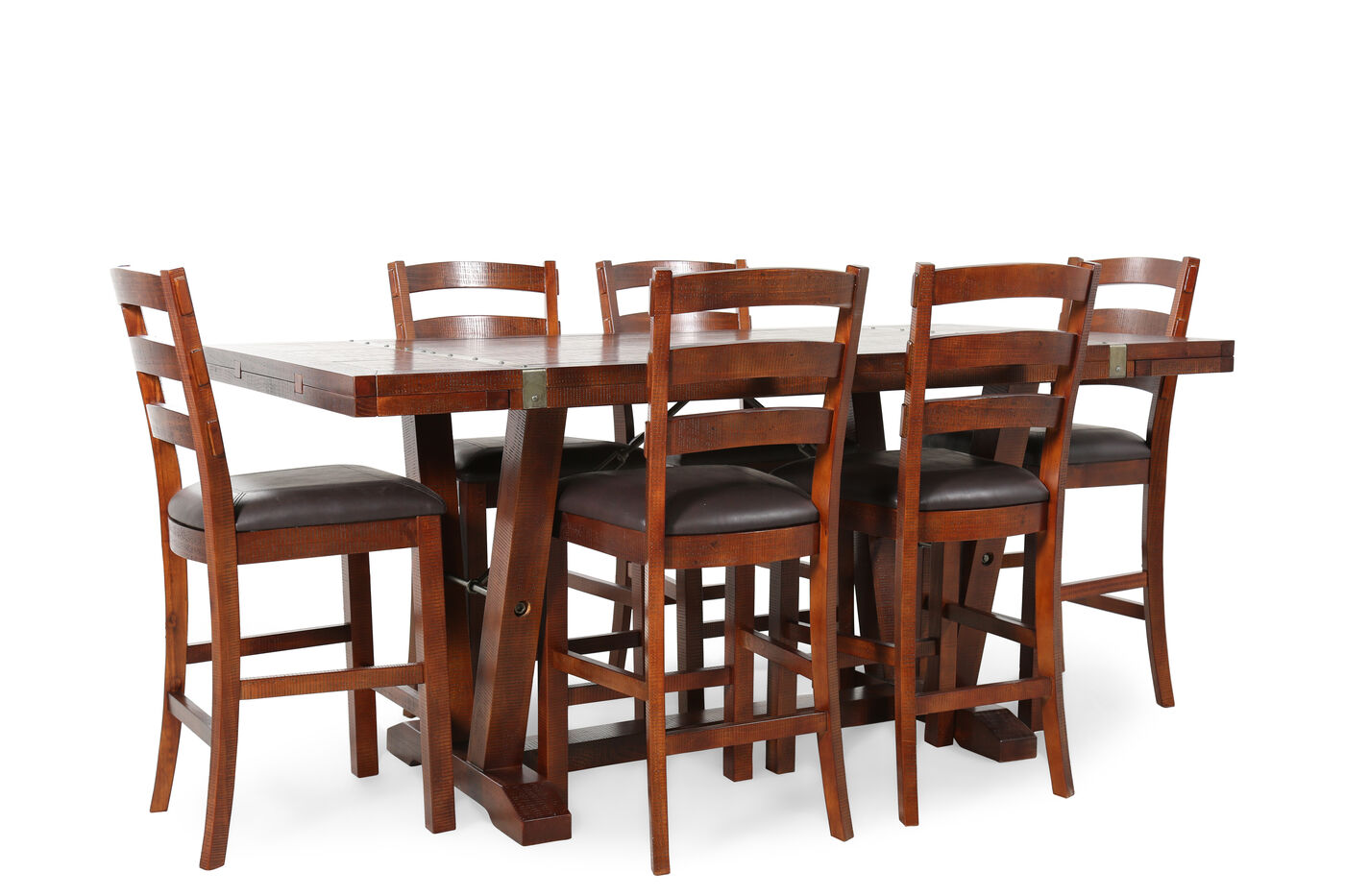 Ashley Gavelston Six Piece Dining Set By Dining Room  : HHF 1710PUB102 from www.elivingroomfurniture.com size 1400 x 933 jpeg 141kB