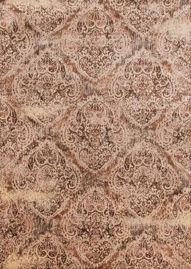 "Transitional 3'-7""x5'-7"" Rug in Tobacco/Ant Ivory"