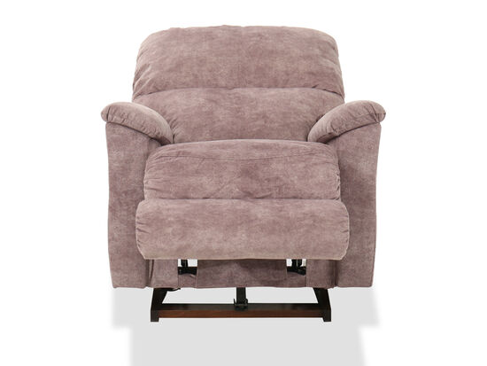 "38"" Casual Rocker Recliner in Mauve"