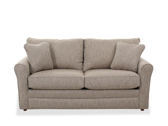 """Casual 73.5"""" Full Sleeper Sofa in Oat"""