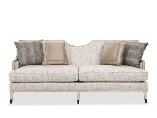 """Contemporary 83"""" Sofa in Gray"""