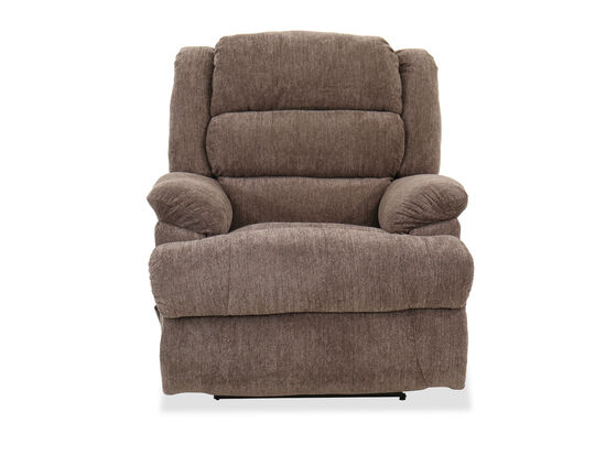Traditional 44'' Wall Saver Recliner in Brown