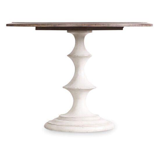 "Brynlee 42"" Table in White"