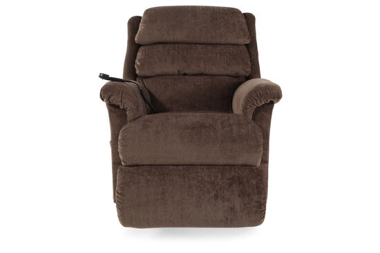 "Contemporary 35"" Recliner in Mocha"