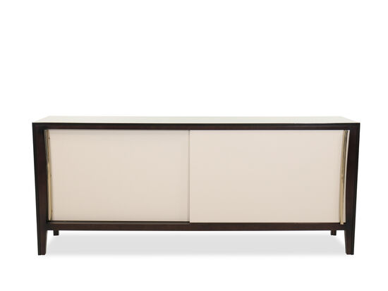 "Two Door 85"" Credenza in Brown"