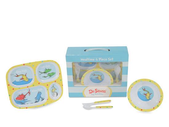 Dr. Seuss Mealtime 4-Piece Set