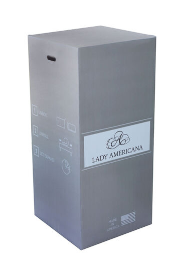Silver Cooling Gel Firm Mattress in a Box
