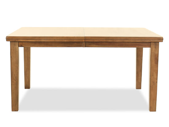 """42"""" Rectangular Dining Table in Light Brown"""