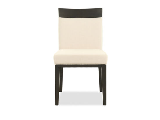 "Casual 19"" Upholstered Dining Chair in Beige"