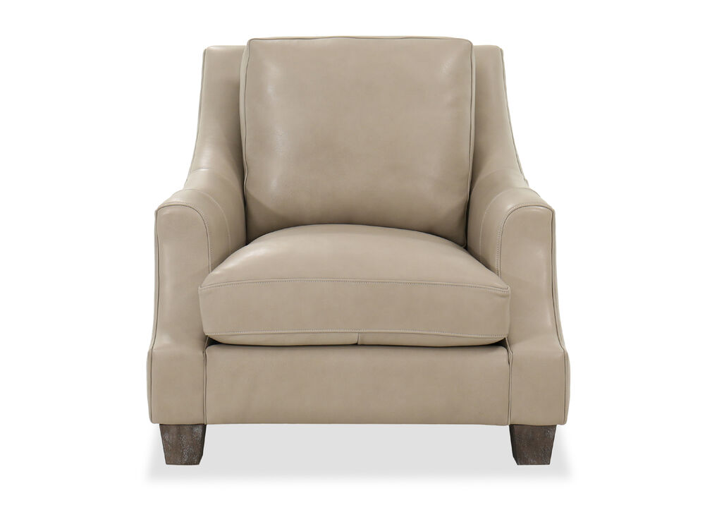 "37"" Casual Living Room Chair in Mocha"