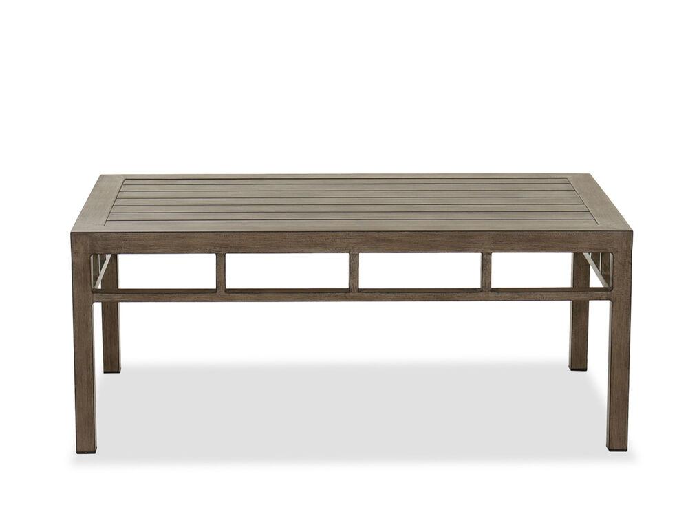 Danbury 30 Patio 25 X44 Coffee Table Mathis Brothers Furniture