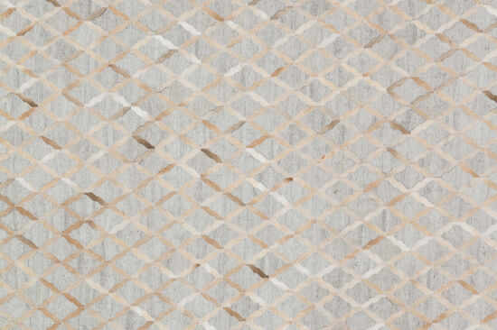 """Loloi Hand Stitched 5'x7'6"""" Rug in Grey/Sand"""
