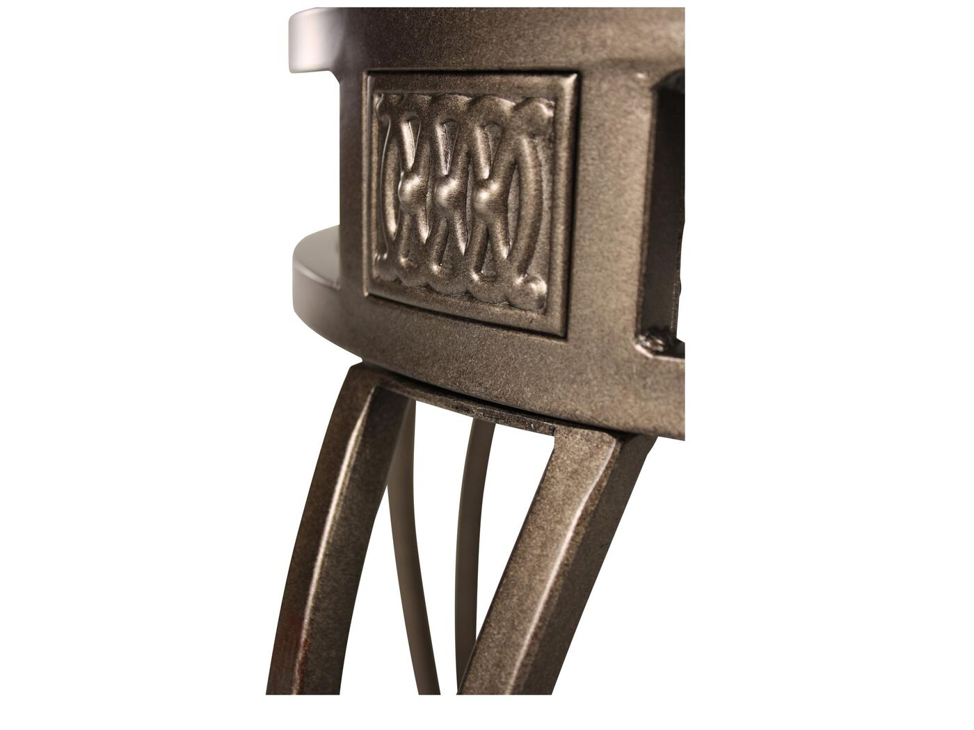 Traditional 30 Quot Swivel Bar Stool In Old Steel Mathis