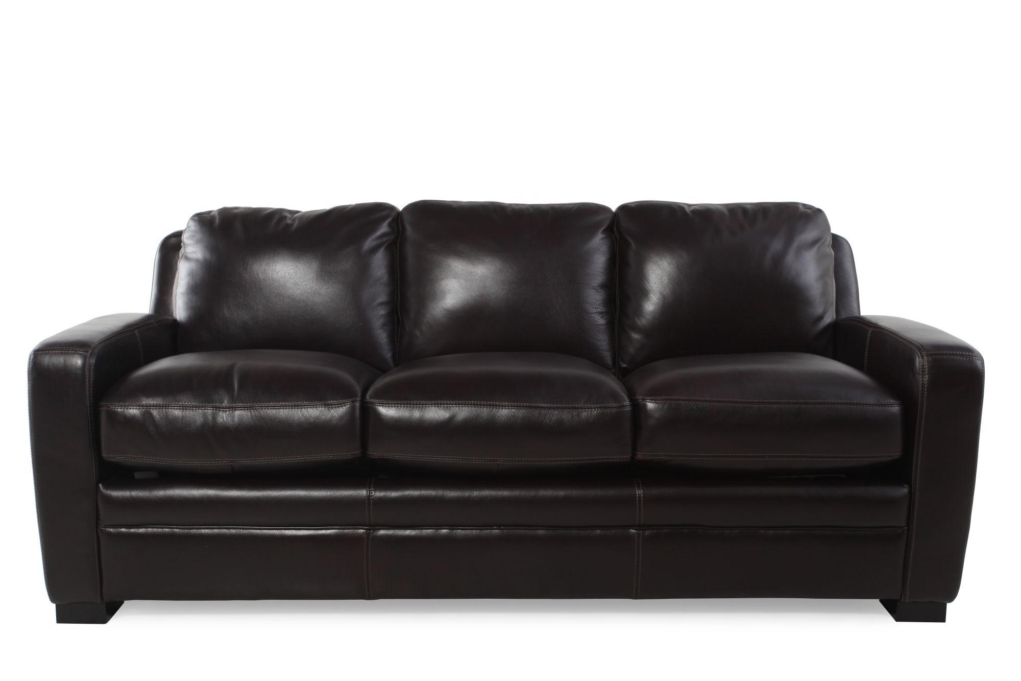 Simon Li Longhorn Blackberry Queen Sleeper Sofa
