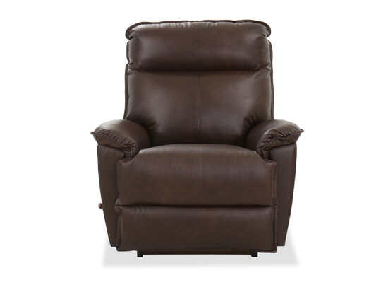 "39""Contemporary Rocker Recliner in Chocolate"